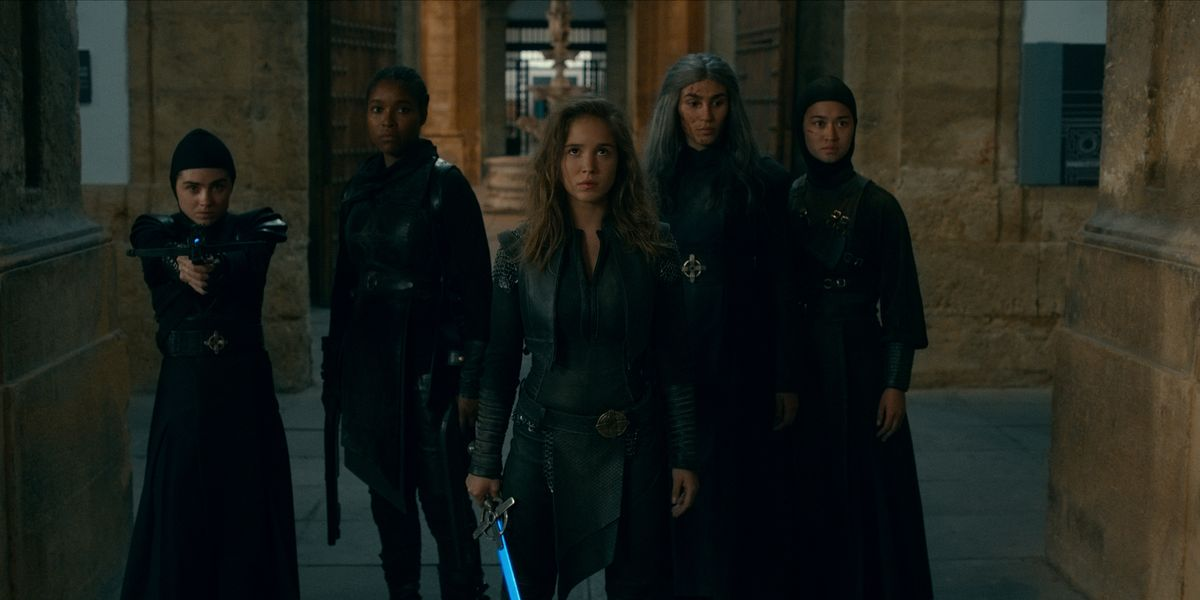 "You're Going to Be Obsessed with the ""Warrior Nun"" Cast"