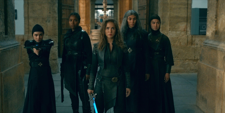 Netflix's Warrior Nun Features a Hell-Raising Ending