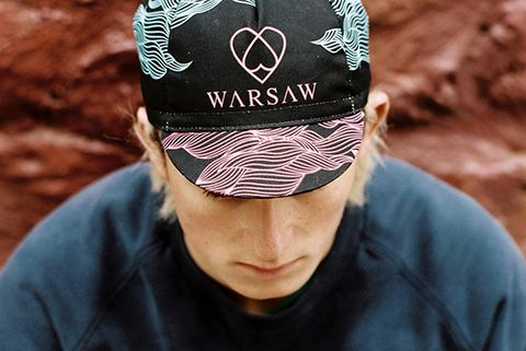 Warsaw Cycling Black Sea Cap