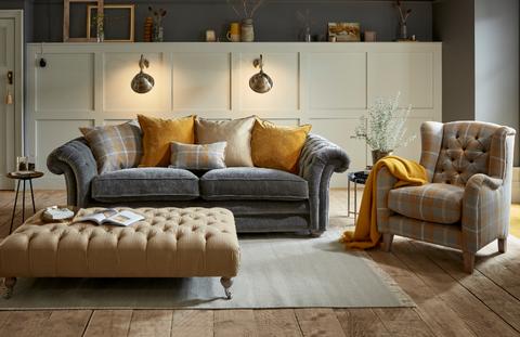 Furniture, Living room, Couch, Room, Interior design, Wood flooring, Floor, Sofa bed, Laminate flooring, Table,