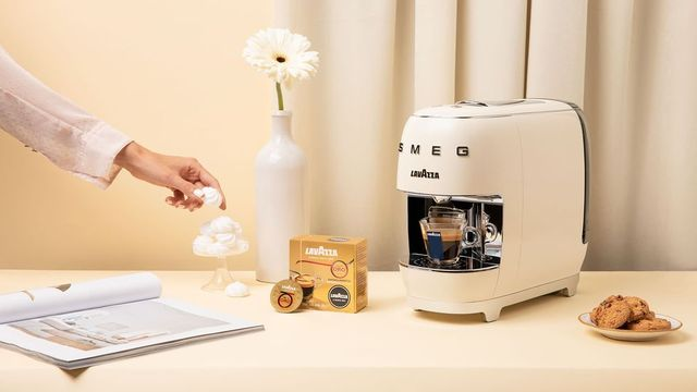macchina caffè lavazza smeg