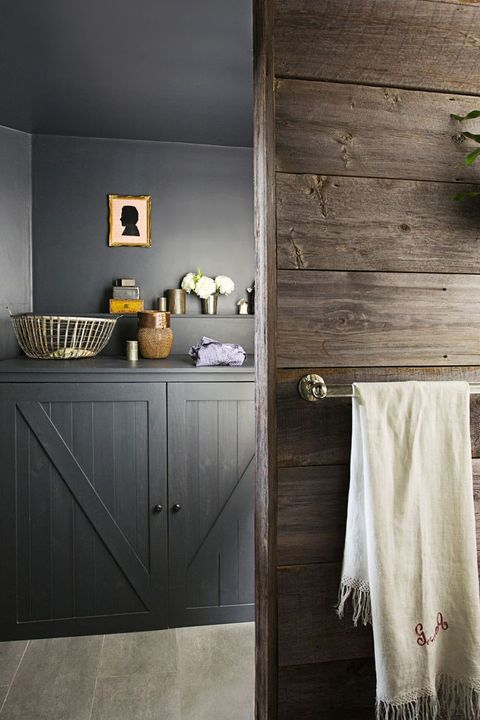 Laundry In Bathroom Closet