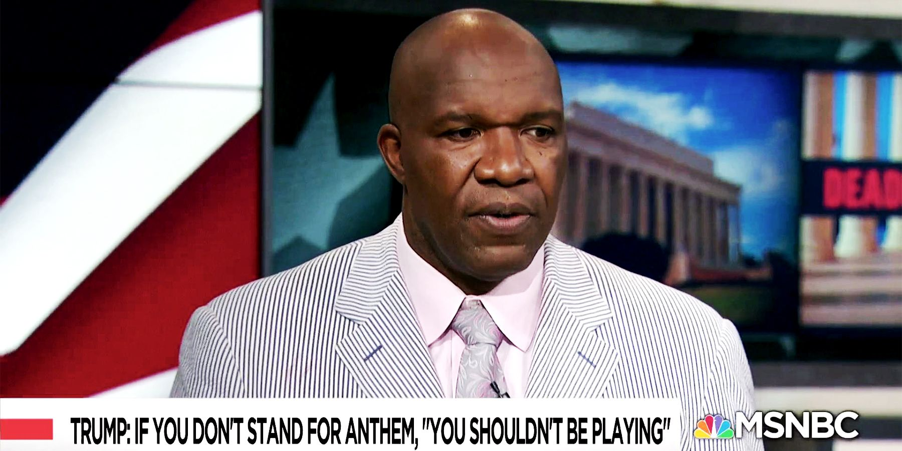 This Ex-NFL Player Has a Great Suggestion Regarding the League's New National Anthem Rule
