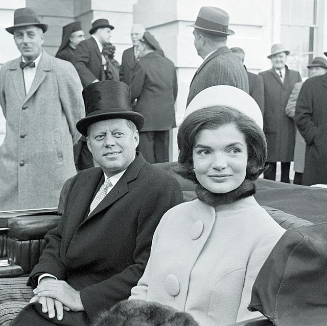 president kennedy and wife in convertible