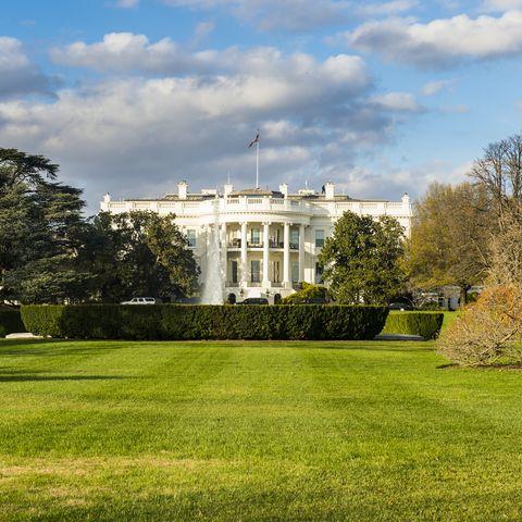 usa, washington dc, view to white house