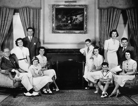 the kennedy clan, 1937