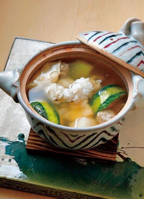 鷲尾町 ほたる「鱧のスープ」