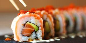 Drinken bij sushi
