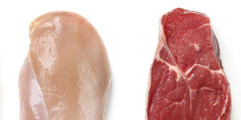 Wat is gezonder: kipfilet of biefstuk?