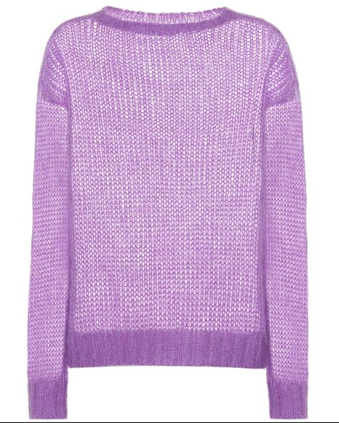 Clothing, Violet, Purple, Sweater, Lilac, Sleeve, Lavender, Outerwear, Top, Wool,