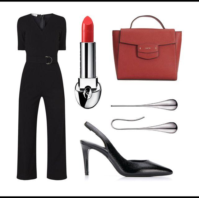 High heels, Footwear, Red, Shoe, Material property, Font, Clip art,
