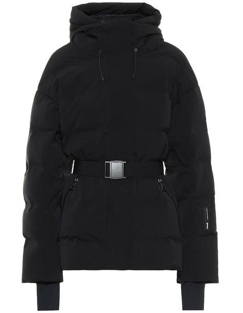Hood, Clothing, Outerwear, Black, Jacket, Sleeve, Parka, Water bird, Fur, Coat,