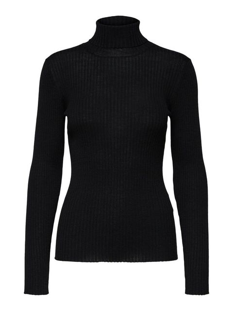 Clothing, Black, Sleeve, Neck, Sweater, Shoulder, Long-sleeved t-shirt, Wool, Outerwear, Jersey,