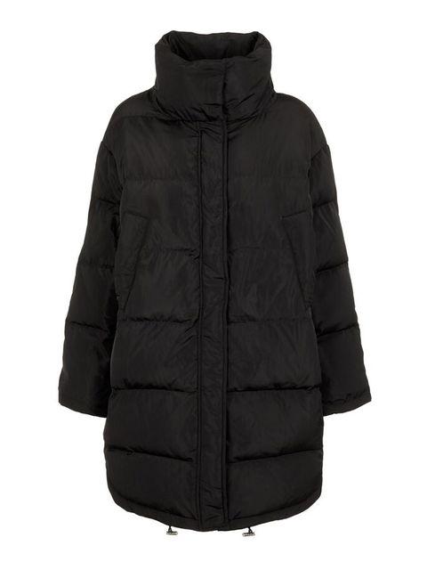 Clothing, Jacket, Outerwear, Hood, Black, Sleeve, Parka, Coat, Puffer, Fur,