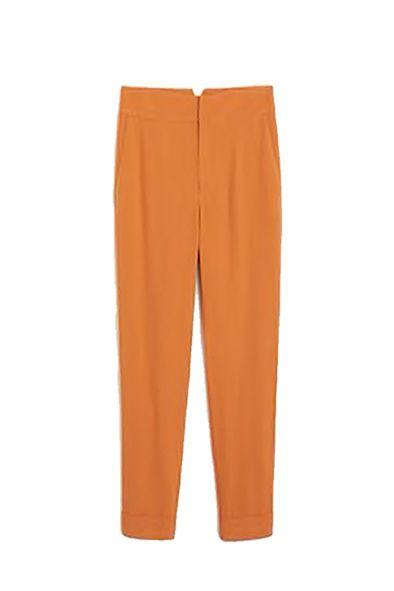 Clothing, Orange, Trousers, Active pants, Sportswear,