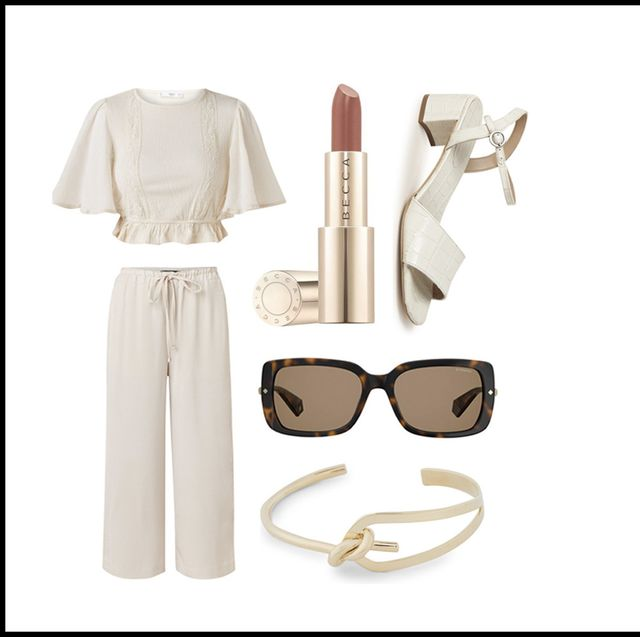 Eyewear, Glasses, Sunglasses, Vision care, Beige,