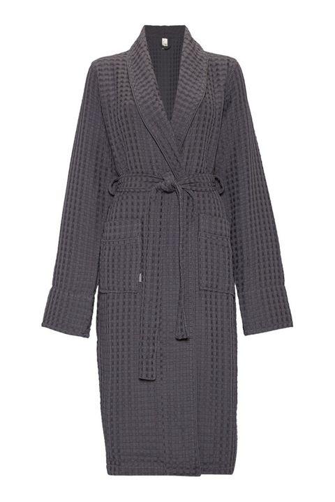 Clothing, Outerwear, Robe, Coat, Overcoat, Sleeve, Nightwear, Dress, Trench coat, Costume,