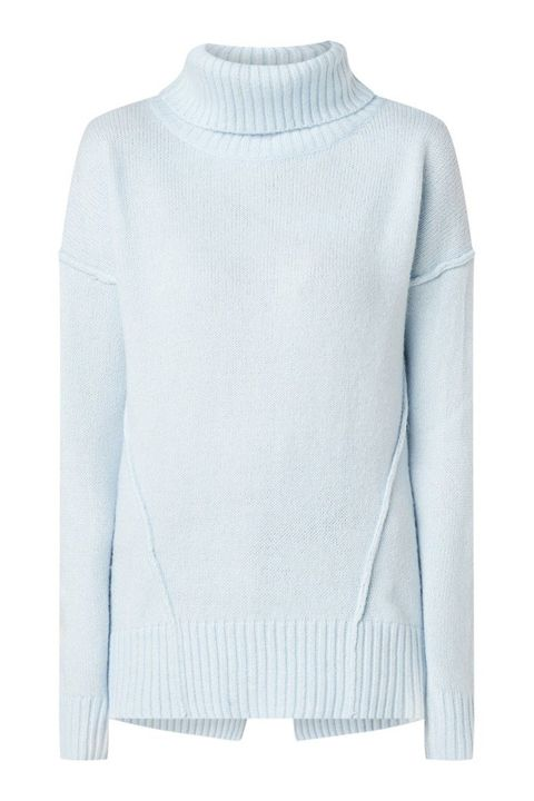 Clothing, White, Neck, Sweater, Sleeve, Outerwear, Shoulder, Jersey, Wool, Long-sleeved t-shirt,