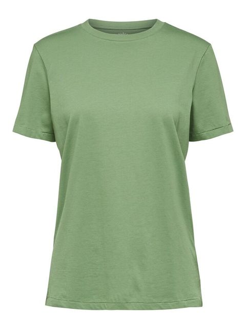 Clothing, Green, T-shirt, Sleeve, Active shirt, Neck, Top, Sportswear,