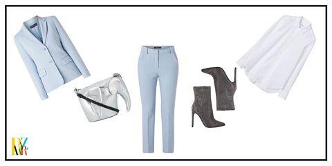White, Clothing, Jeans, Denim, Trousers, Uniform, Textile,
