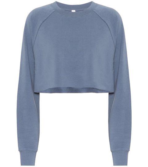 Clothing, Sleeve, Blue, Long-sleeved t-shirt, Jersey, Sweater, Outerwear, T-shirt, Top, Denim,