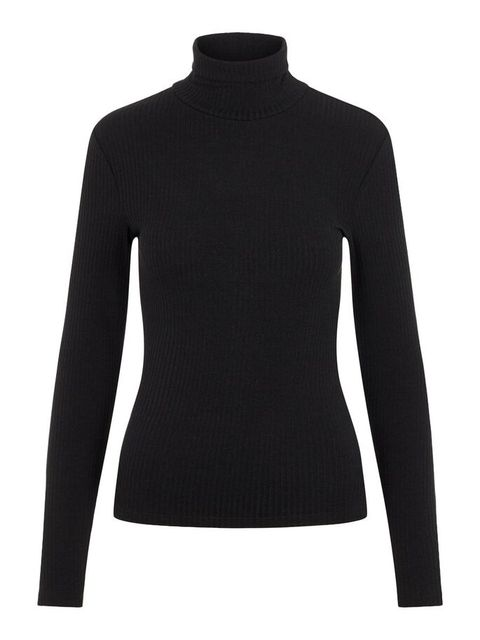 Clothing, Sleeve, Black, Long-sleeved t-shirt, Neck, Shoulder, Sweater, Outerwear, Wool, Jersey,