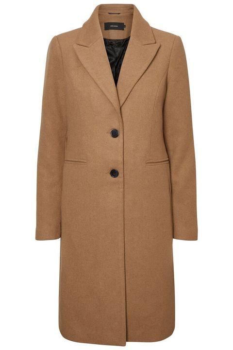 Clothing, Coat, Overcoat, Outerwear, Beige, Tan, Trench coat, Brown, Sleeve, Jacket,