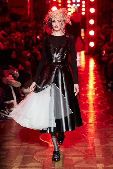 Fashion, Clothing, Fashion model, Haute couture, Runway, Fashion show, Dress, Fashion design, Event, Gothic fashion,