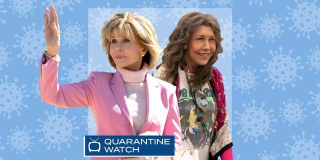 grace and frankie quarantine watch what to binge