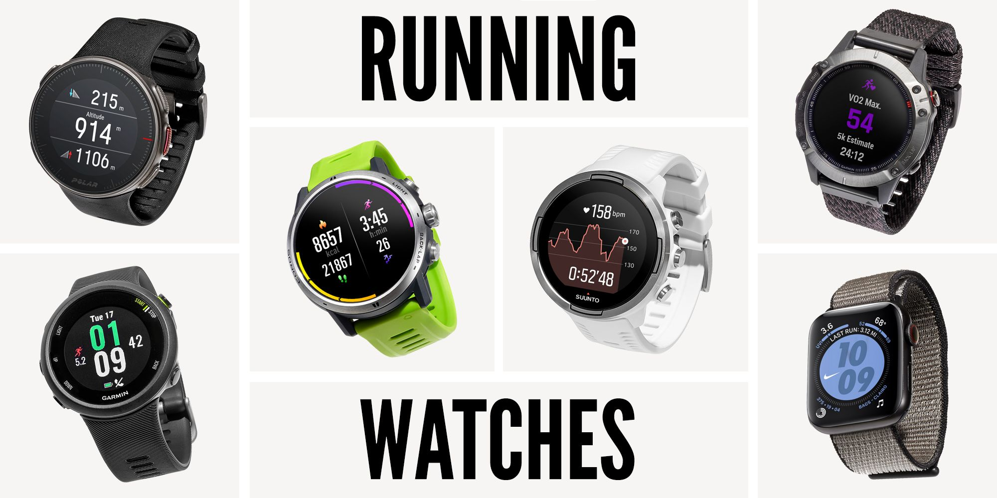 The best gps running watches; tried, tested and reviewed.