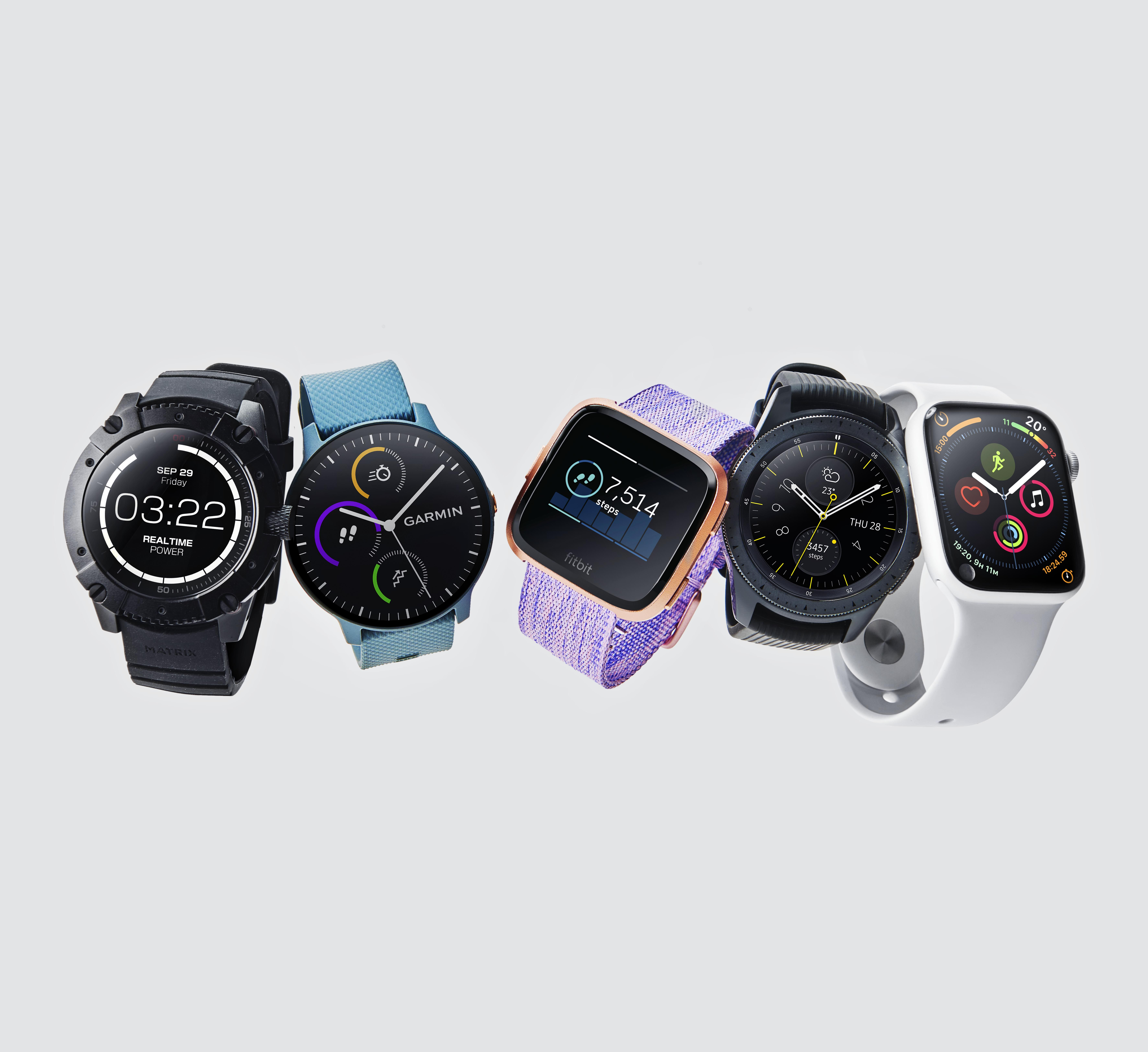 5 of 2019's best smartwatches, tried and tested