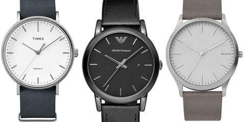 Watch, Analog watch, Watch accessory, Black, Fashion accessory, Strap, Jewellery, Brand, Material property, Silver,