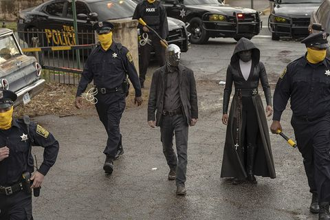 grupo de superheroes de watchmen