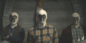Watchmen TV series: Rorschach gang