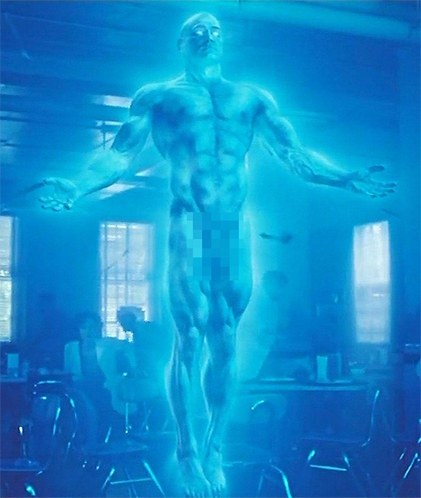 Mr manhattan naked