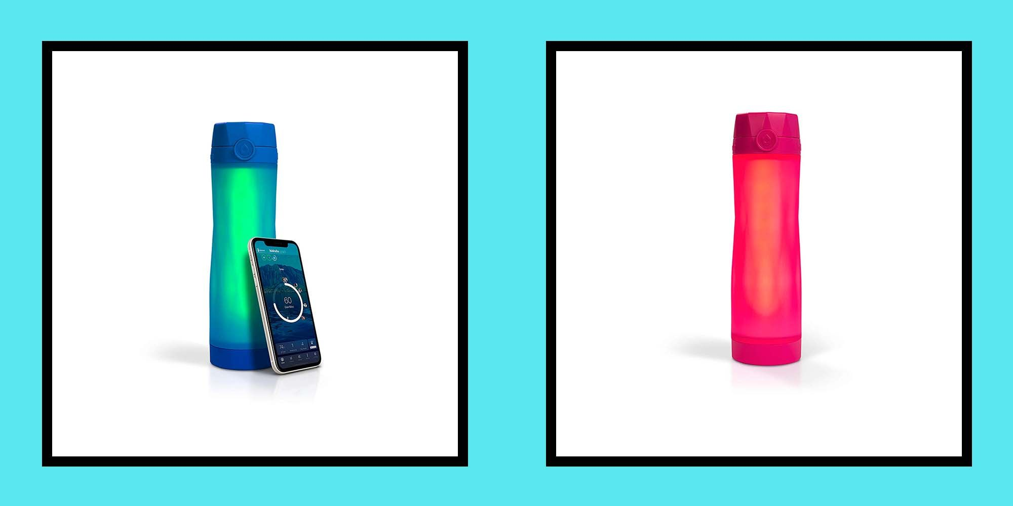 This Hidrate Spark water bottle is genius - it tells you how much to drink and where you last left the bottle