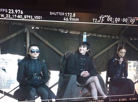 Water bottle in Game of Thrones behind the scenes