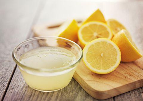 Water met citroen afvallen