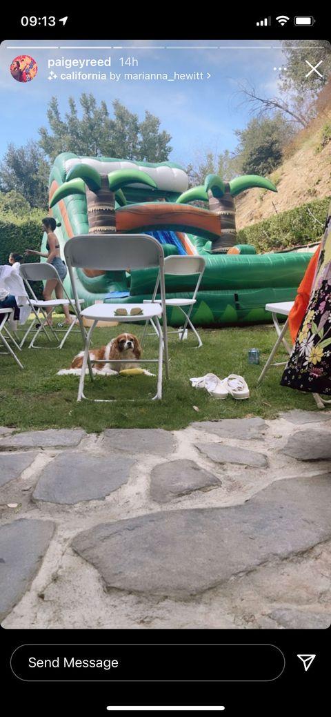 selena gomez's 29th birthday party