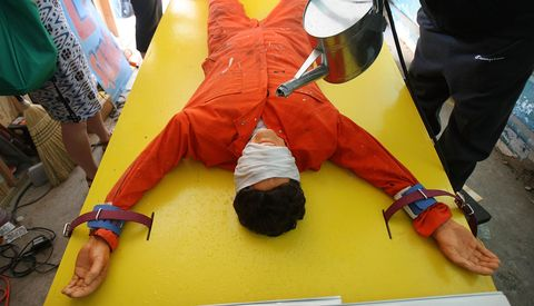 Yellow, Orange, Inflatable, Personal protective equipment, Games,