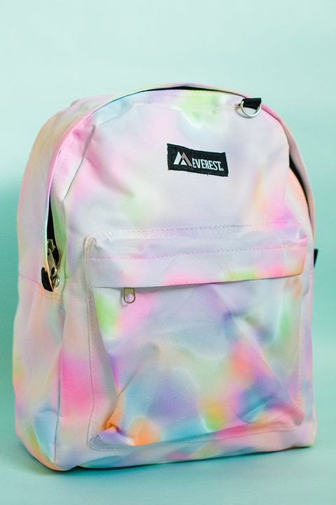 back to school diy watercolor backpack