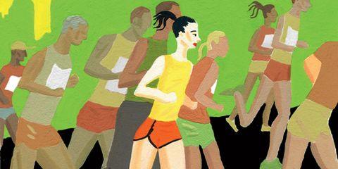 Watercolor Runners