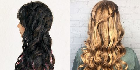 How To Create A Waterfall Braid For Beginners Easy Braided Hairstyles