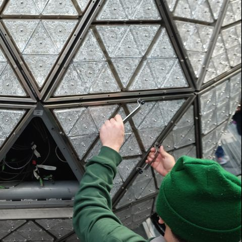 Times Square New Year's Eve 2017 - The Waterford Crystal Installation