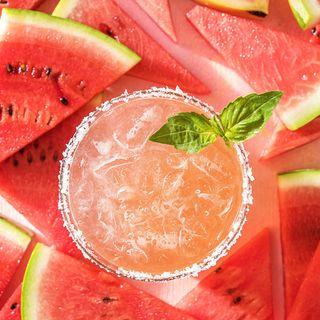 watermelon basil margarita