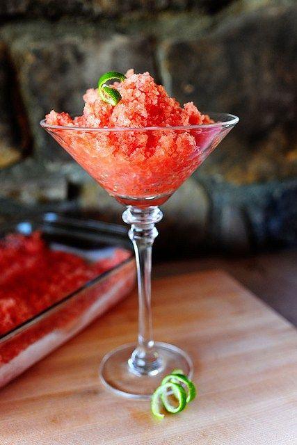 watermelon drinks granita