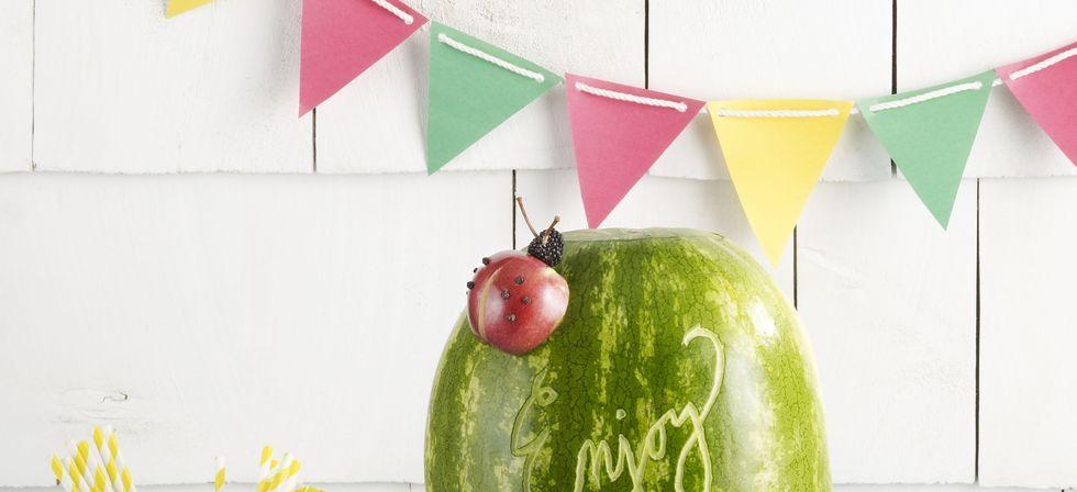 Wassermelonenlimeade und Fass