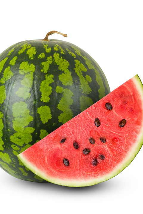 watermelon on a white background, isolated