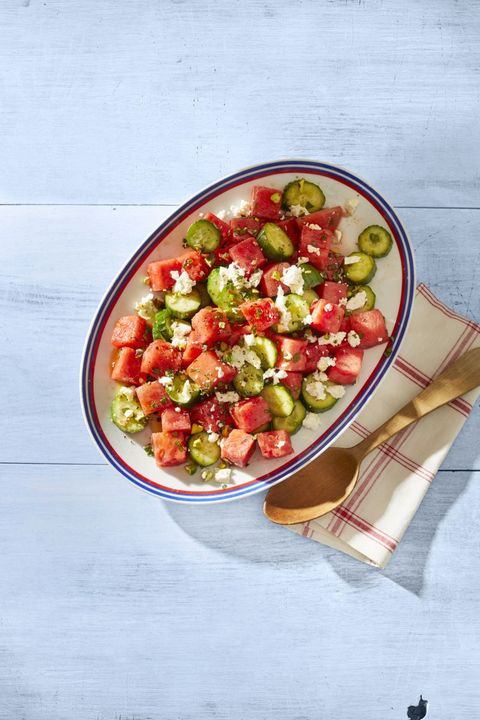 watermelon salad picnic side dishes