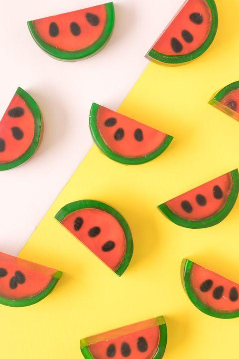 Watermelon Soap - Summer Crafts